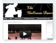 Dance learning website