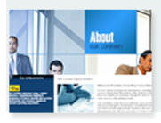 Managerial consulting website